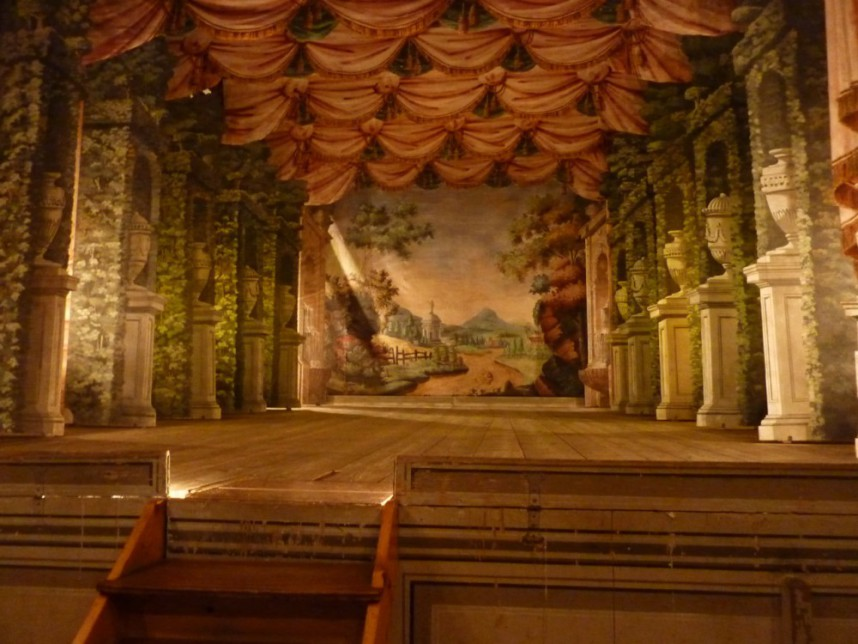 Theater in castle