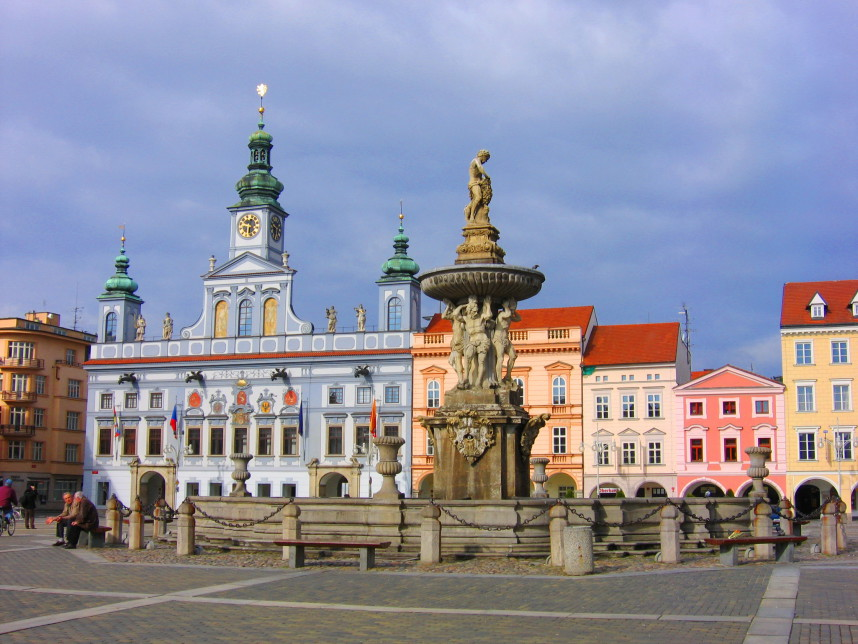 Fountain, Ceske Budejovice