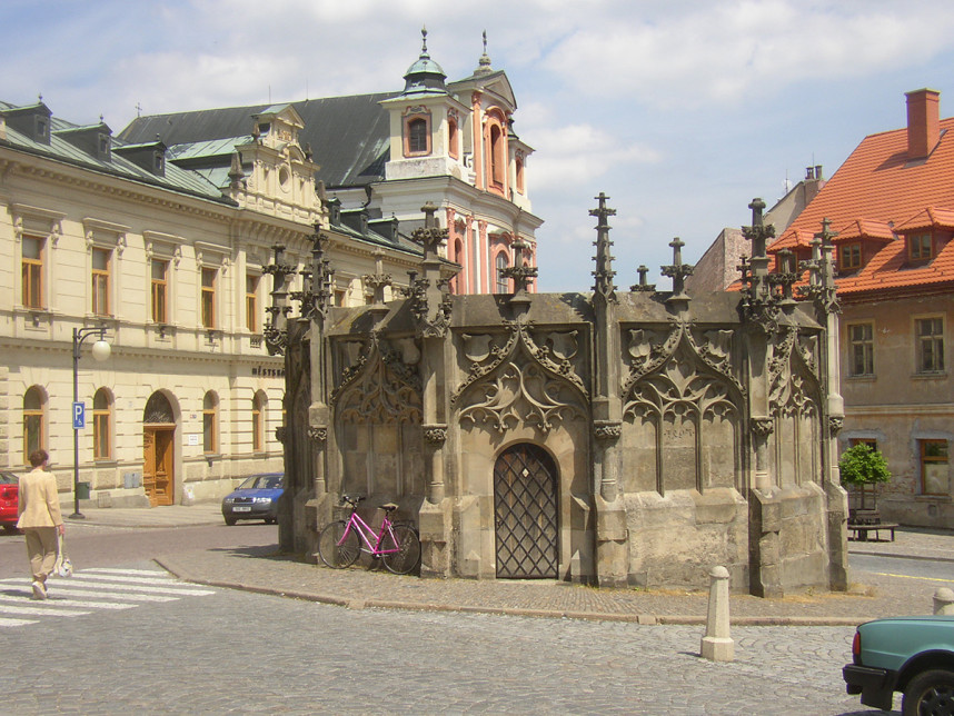 Stone Fountain in Kutna Hora