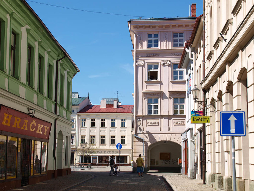 Street, Frydek-Mistek