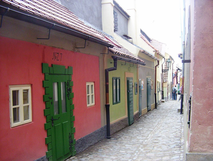 Golden Lane in Prague