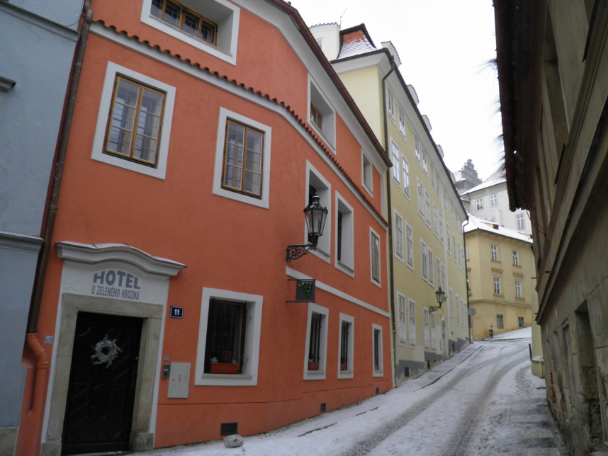 Jansky vrsek in winter