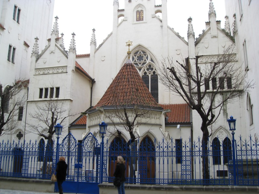Synagogue in the Jewish Quarter of Prague
