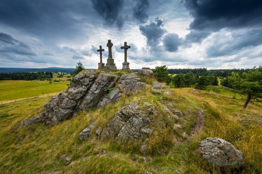 Landscape of Karlovy Vary region