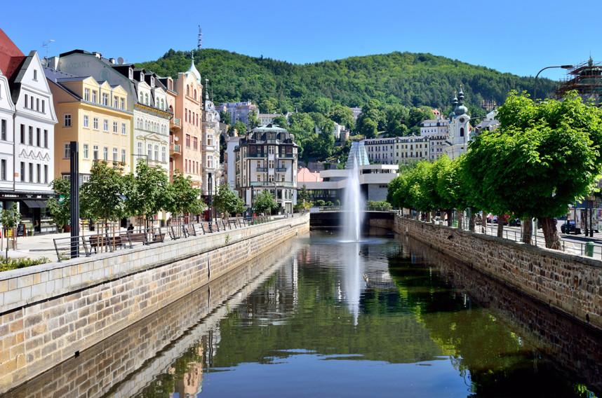 Fountain, Karlovy Vary