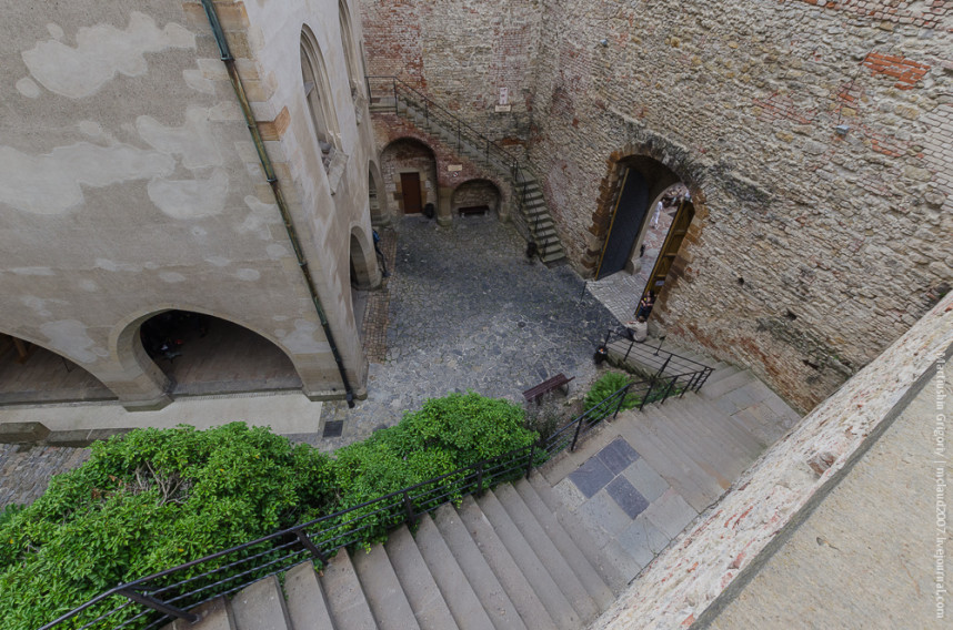 Stairs, Karlštejn Castle