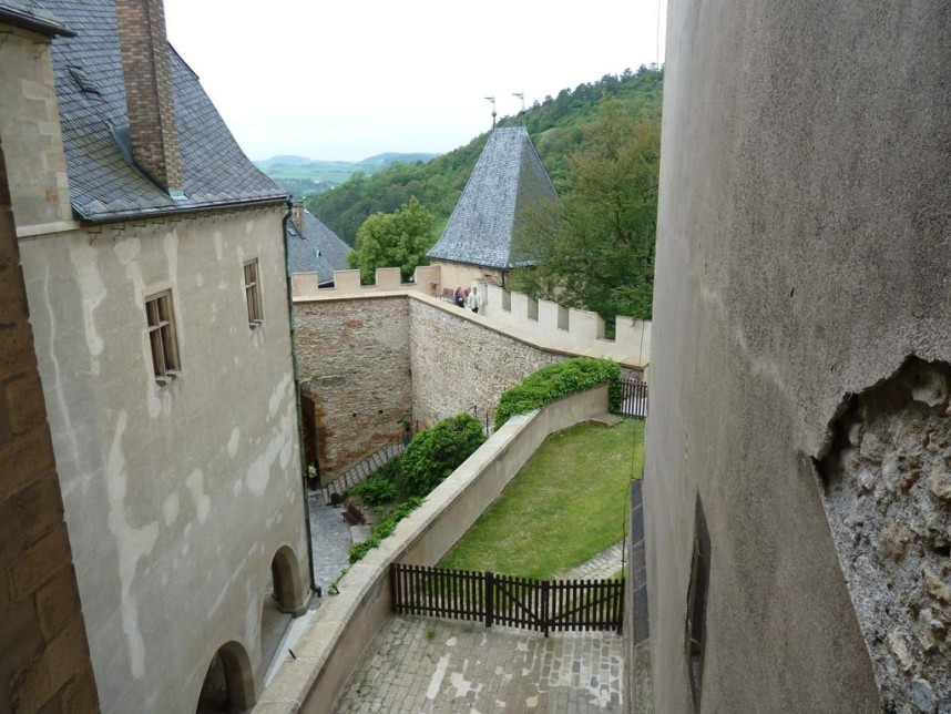Inside the Karlštejn Castle