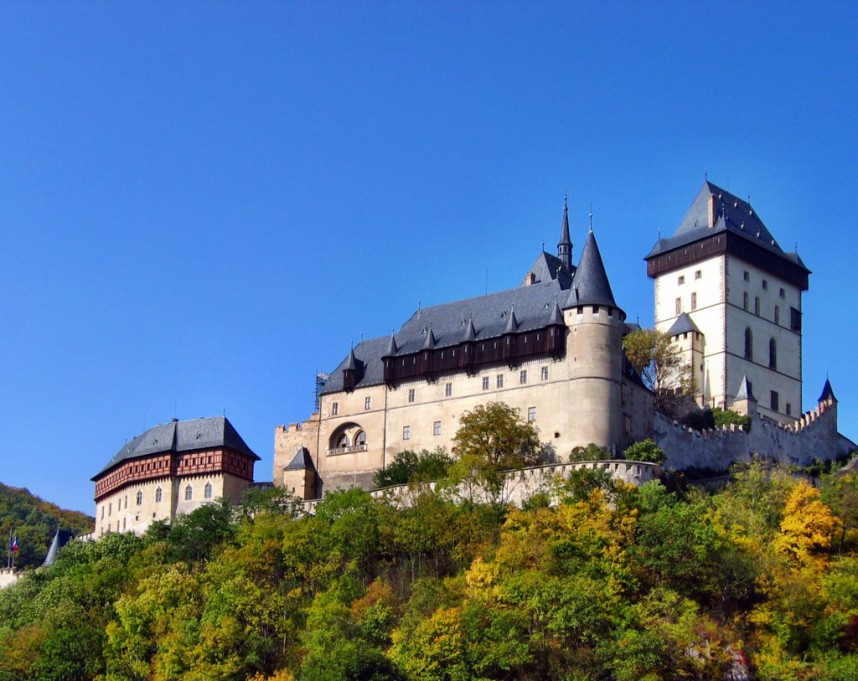 View of Karlštejn Castle