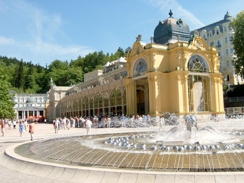 Fountain, Marianske Lazne