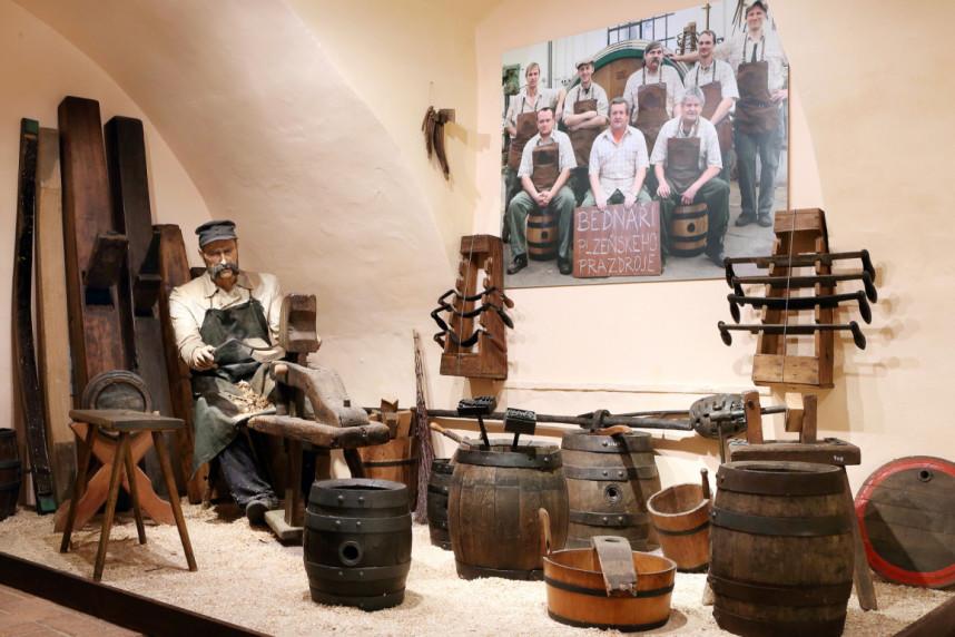 Brewery museum in Plzen