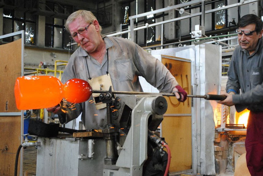 Glass Factory, Czech Republic