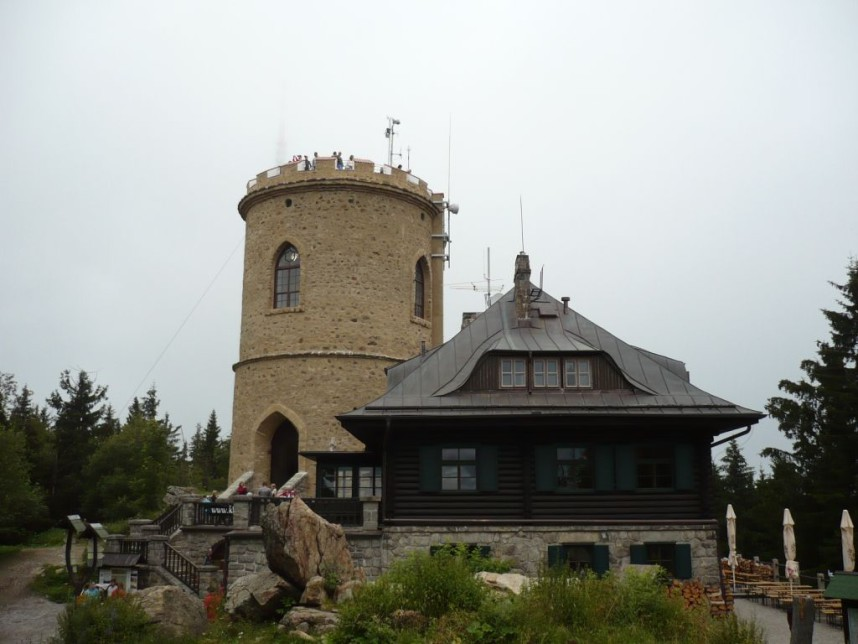 Klet lookout tower