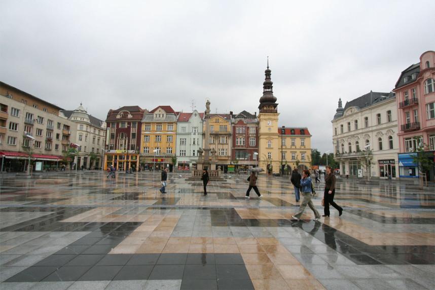 Square, Ostrava