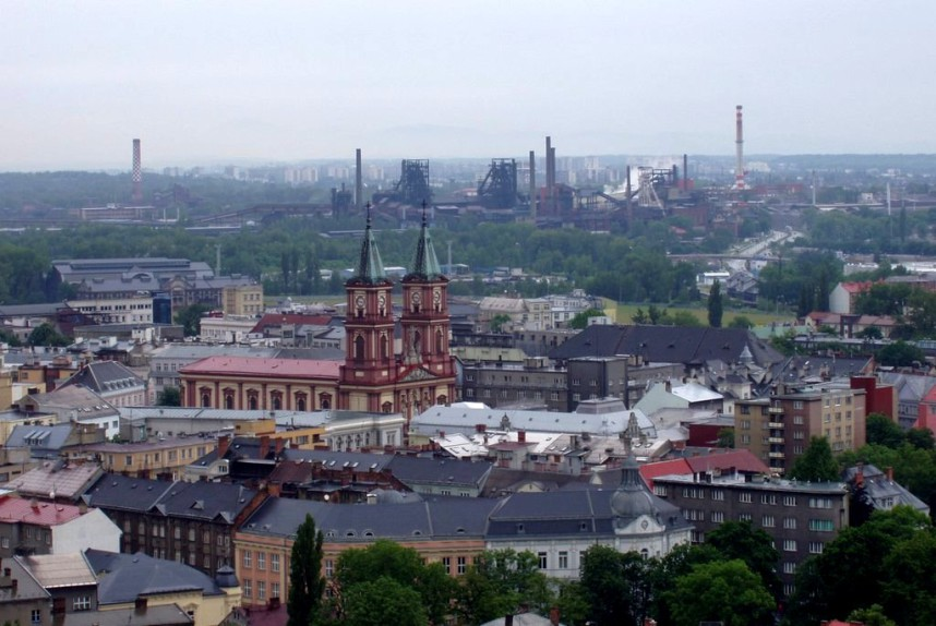Panorama of Ostrava