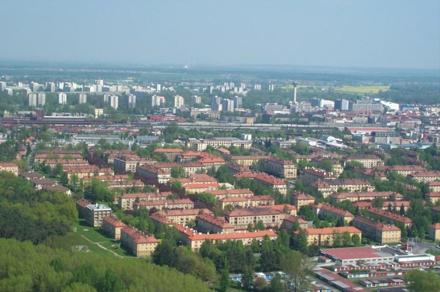 Panorama Pardubice