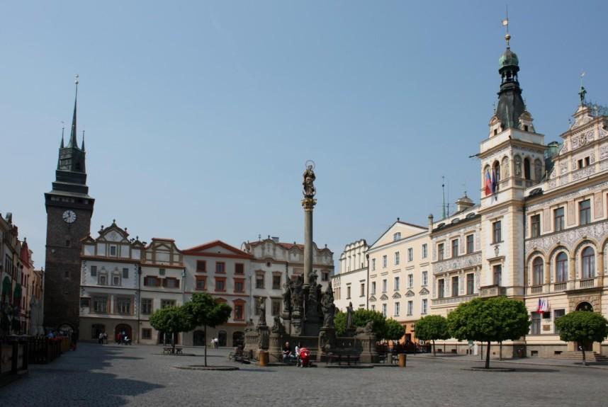 Square, Pardubice
