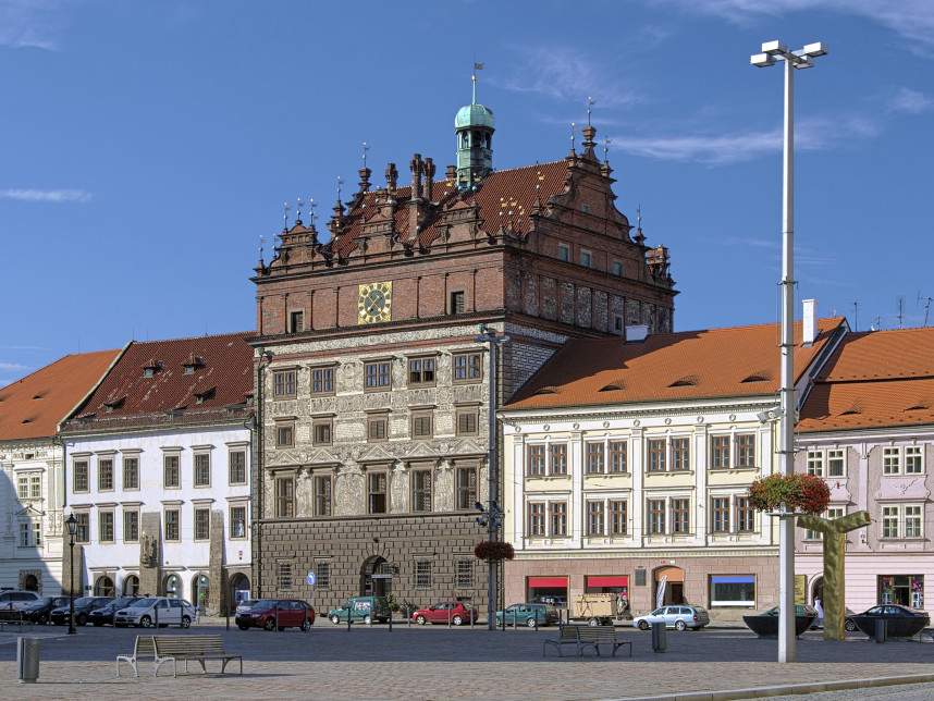 Plzen Town Hall, Czech Republic