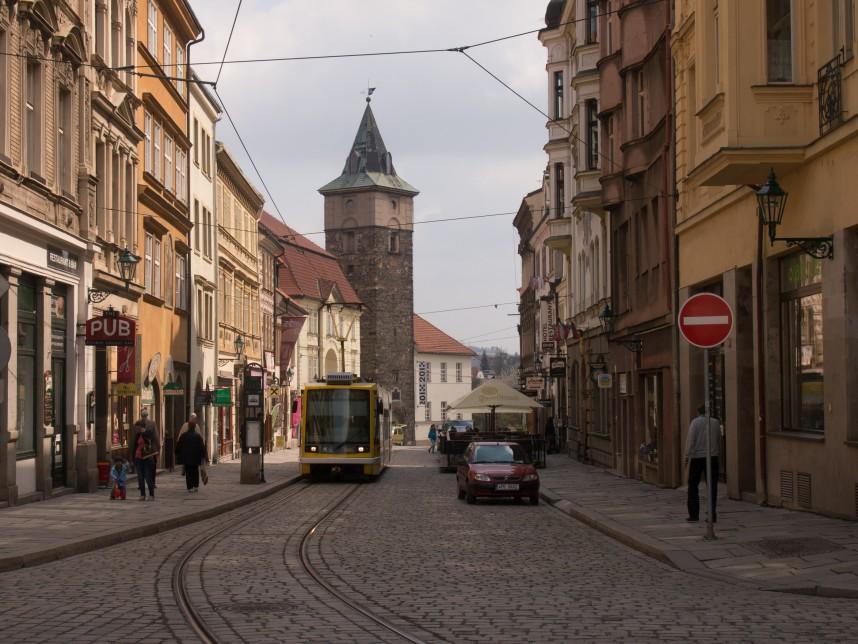 Street in Plzen