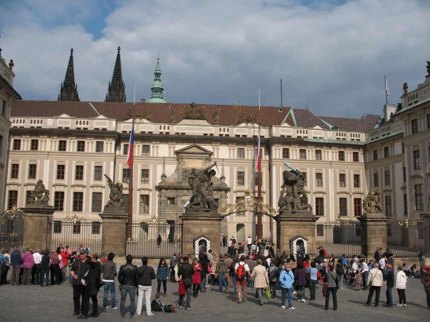 Gate of Prague castle