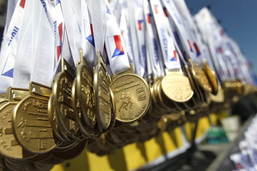 Prague Marathon Medal