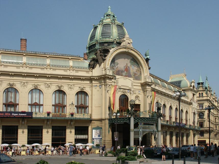 Smetana Hall in Prague