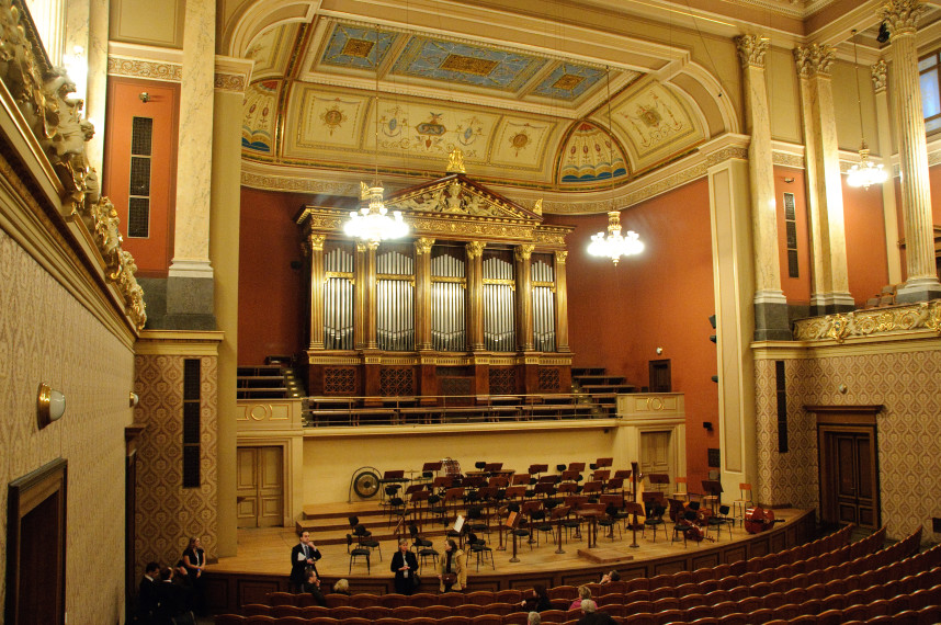 Inside Rudolfinum