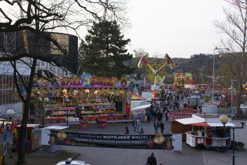 Spring fair in Prague