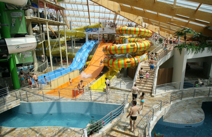 AquaPalace in Cestlice
