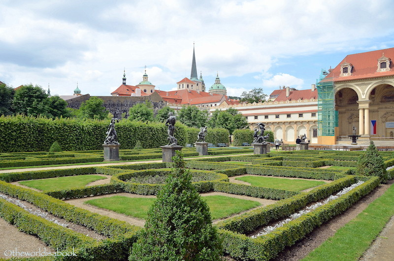 Palace Gardens in Prague