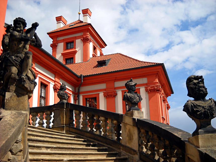 Stairs, Troja Palace