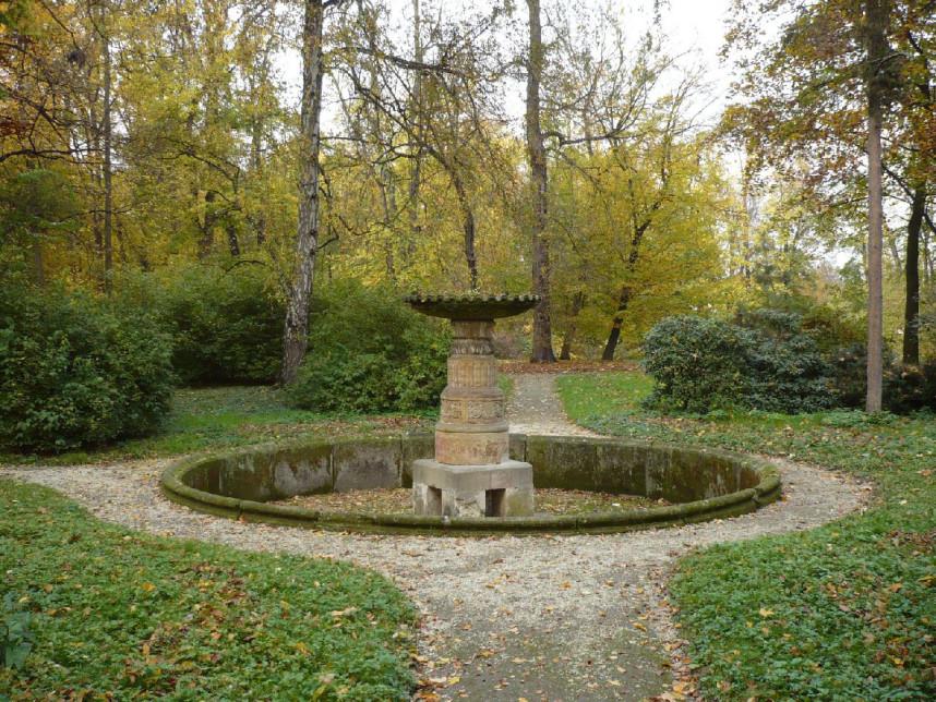 Podzamecka gardens