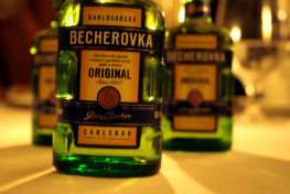 Czech Becherovka