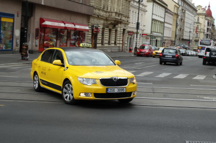 Beware of Prague taxis