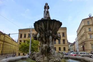 Czech fountains