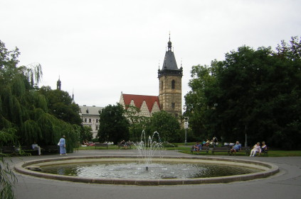 Beautiful squares in the Czech Republic