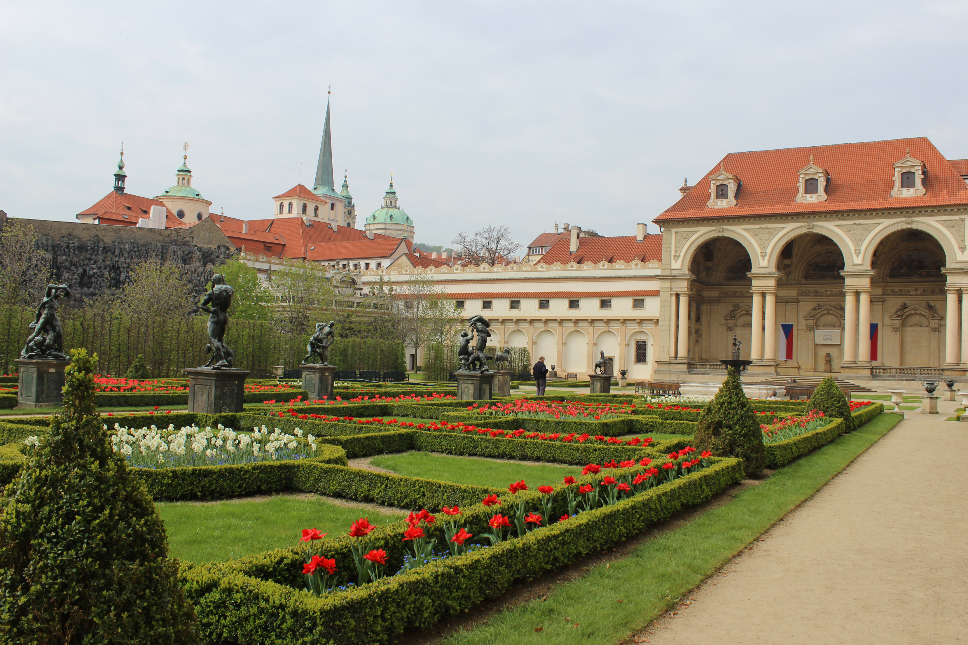 History of the pardubice palace
