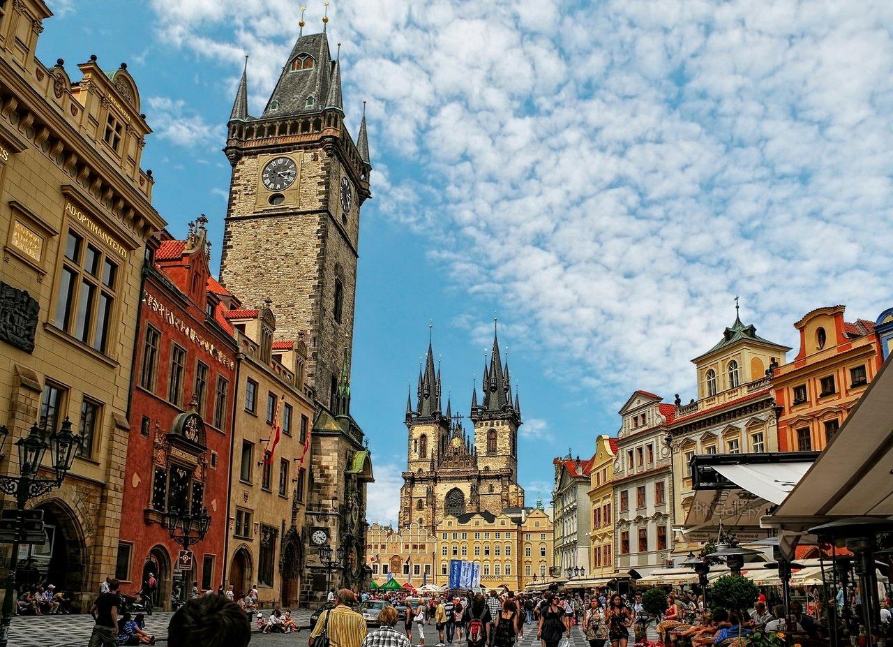 Prague gothic architecture