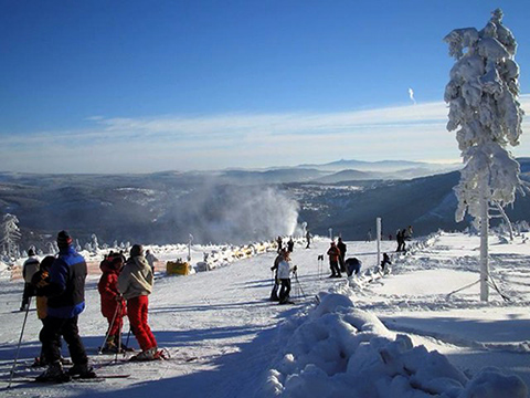 Czechs prefer domestic mountains in winter