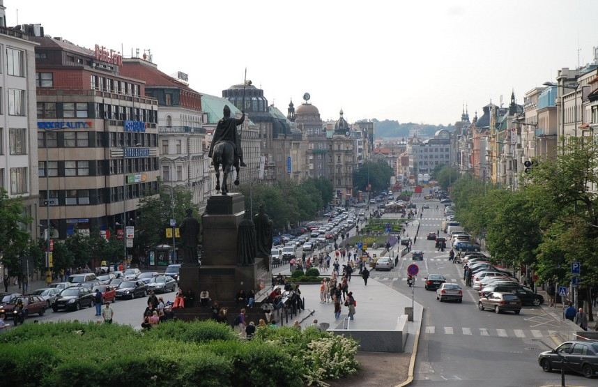 Prague, Wenceslas Square
