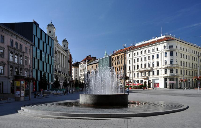 Fountain, Brno