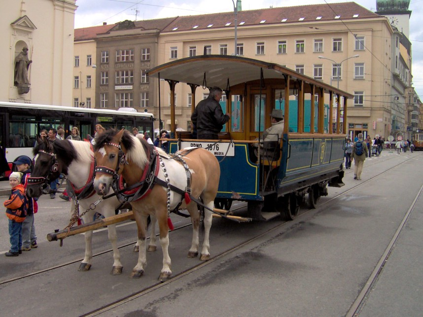 Tram, Brno