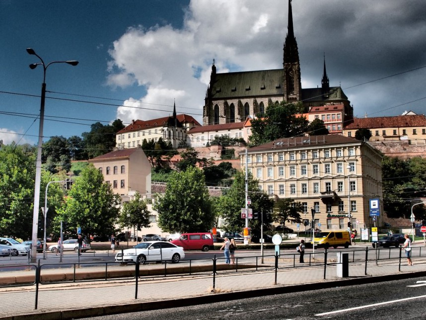 Streets in Brno
