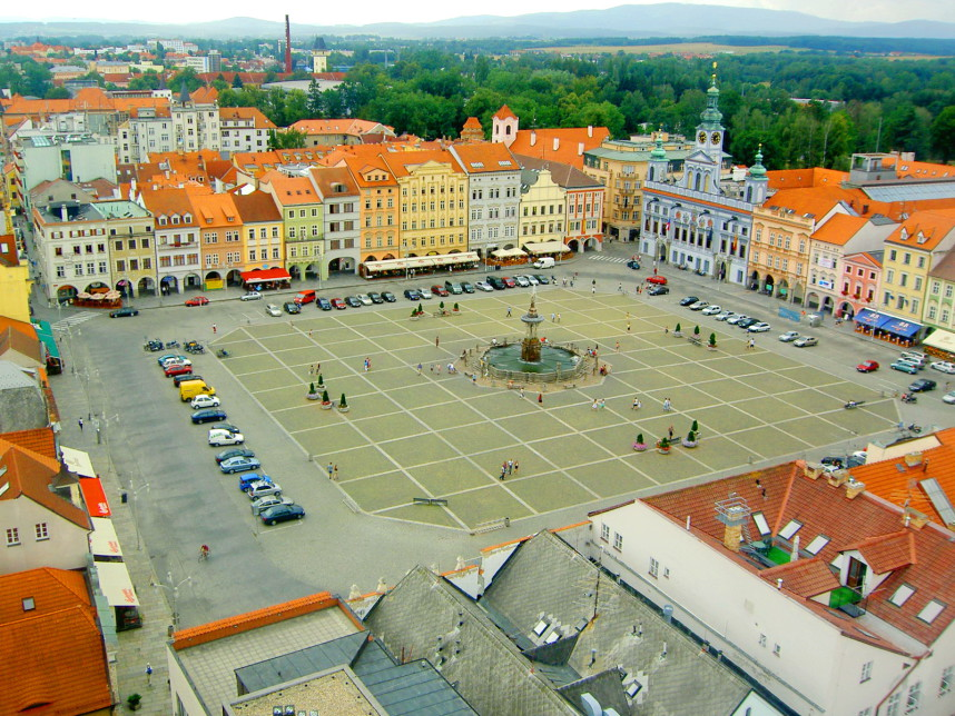 Square, Ceske Budejovice
