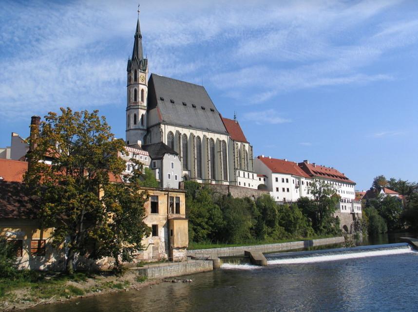 Church, Cesky Krumlov