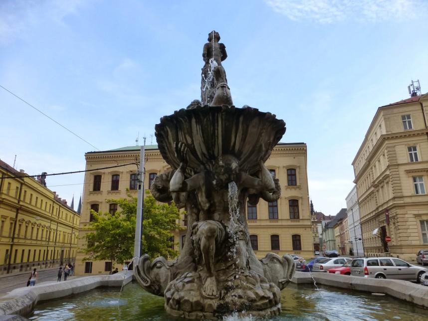 Triton Fountain, Olomouc