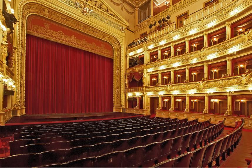 Interiror National Theater Opera