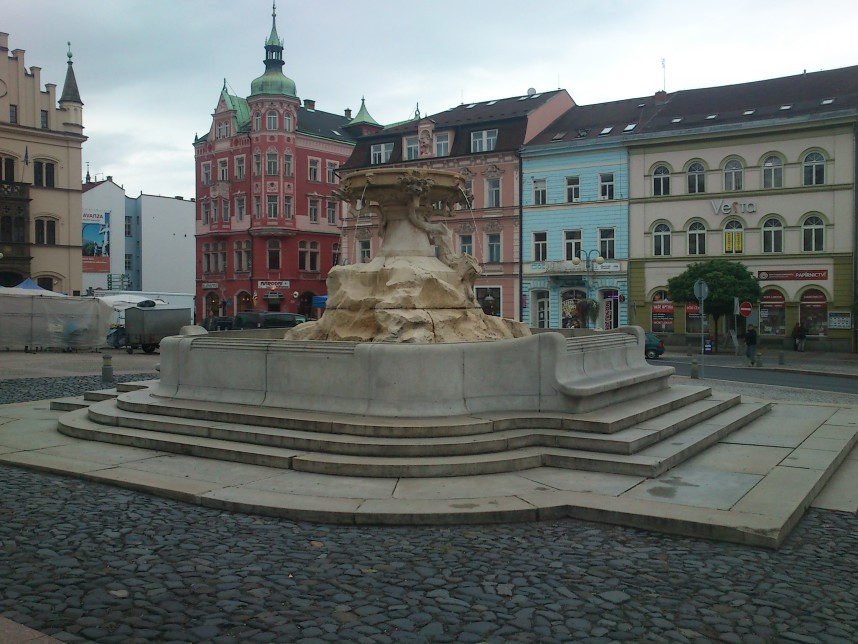 Fountain, Decin