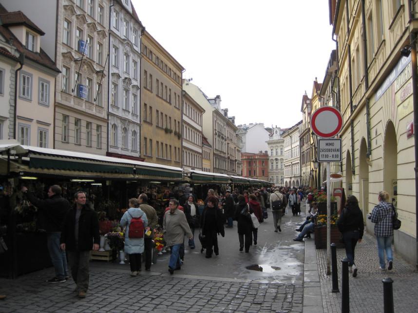 The Ovocny Market at Havelska Street