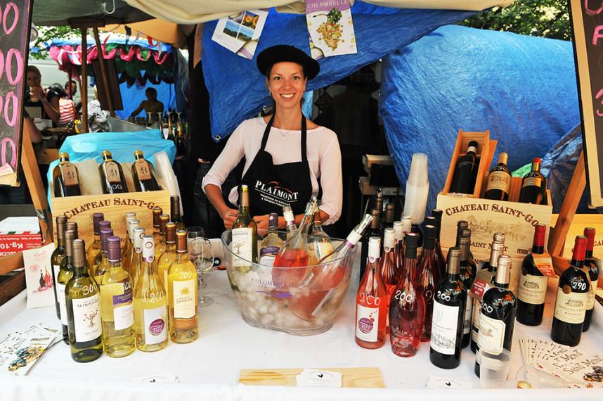French Market on Kampa Island