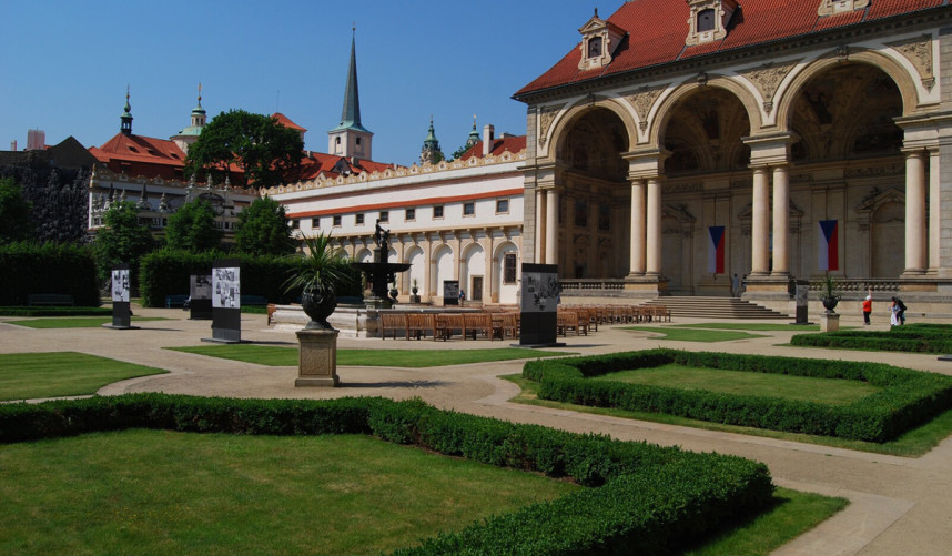 Wallenstein garden, Prague